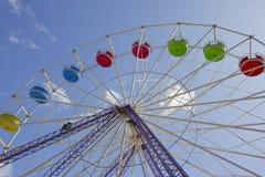 Góndolas de la rueda de Ferris Imágenes de archivo libres de regalías