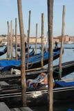 Góndolas de Venecia Foto de archivo