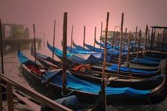 Góndolas de Venecia Fotografía de archivo libre de regalías