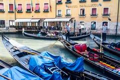 Góndolas en Venecia Imagenes de archivo