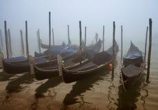 Góndolas en Venecia Imagen de archivo