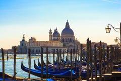 Góndolas, Venecia Imagenes de archivo