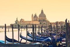 Góndolas, Venecia Fotografía de archivo