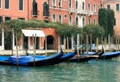 Góndolas, Venecia, Italia Imágenes de archivo libres de regalías