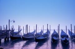 Góndolas, Venecia - Italia Imagenes de archivo