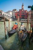 Góndolas, Venecia, Italia Foto de archivo