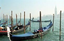 Góndolas, Venecia, Italia Imagen de archivo