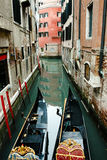 Góndolas - Venecia - Italia Fotos de archivo libres de regalías