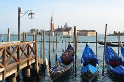 Góndolas venecianas Fotografía de archivo