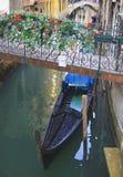 Góndolas venecianas Foto de archivo