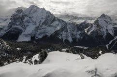 Gór Alps w Włochy obrazy royalty free