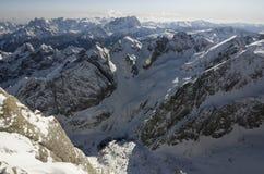 Gór Alps w Włochy zdjęcia stock