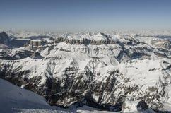 Gór Alps w Włochy obrazy stock