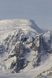 Gór i lodowów western Antarktyczny Obrazy Royalty Free