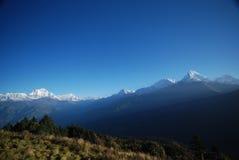gór Nepal śnieg Zdjęcia Royalty Free