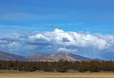 gór Oregon niebo burzowy Zdjęcie Stock
