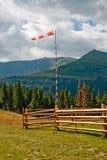 gór rękawa wiatr fotografia royalty free