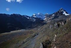 gór szczytów Peru śnieg Zdjęcie Stock