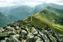 gór tatras Fotografia Royalty Free