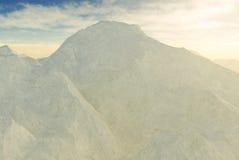 góra śnieżna Obraz Stock