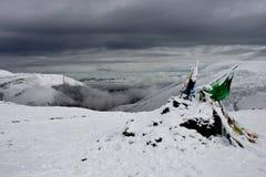 góra śnieżny Tibet Obraz Stock