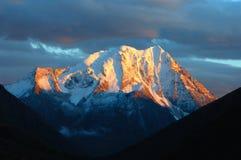 góra śnieg Zdjęcia Royalty Free