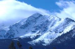 góra śniegu Obrazy Royalty Free