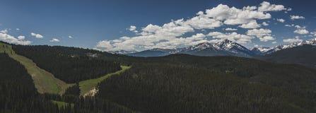 Góra Święta Przecinająca panorama Fotografia Royalty Free