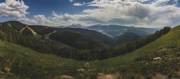 Góra Święta Przecinająca panorama Obrazy Stock