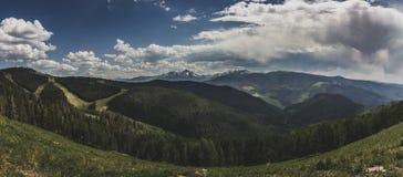 Góra Święta Przecinająca panorama Zdjęcia Stock