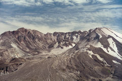 Góra święty Helens w 1997 Obraz Stock