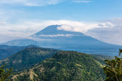 Góra Agung, Bali wyspa, Indonezja Fotografia Royalty Free