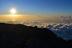 Góra Agung Gunung w Bali, Indonezja Obraz Stock