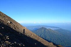 Góra Agung Gunung w Bali, Indonezja Zdjęcie Stock