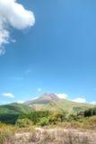 Góra Aso, Kyushu, Japonia Zdjęcia Stock