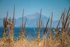 Góra Athos Fotografia Royalty Free