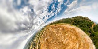 Góra bańczasty Krajobraz Zdjęcia Stock