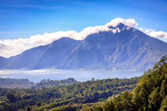 Góra Batur Zdjęcia Stock