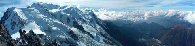 Góra Blanc Zdjęcia Stock