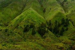 Góra Bromo i góra Batok Obrazy Royalty Free