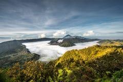 Góra Bromo w ranku Obrazy Royalty Free
