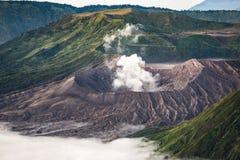 Góra Bromo w ranku Zdjęcia Royalty Free