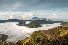Góra Bromo w ranku Fotografia Royalty Free