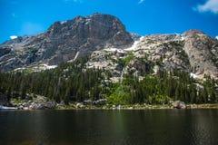 Góra Copeland i Bonkreta jezioro Zdjęcie Stock