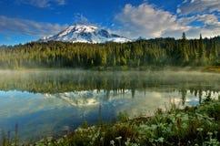 góra dżdżysta Zdjęcia Stock