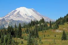 góra dżdżysta np Zdjęcie Royalty Free