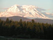 Góra Dżdżysta, WA na Słonecznym Dniu Zdjęcia Stock