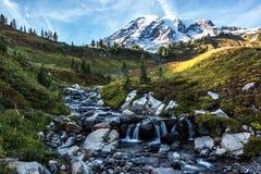 Góra Dżdżysty krajobraz Zdjęcie Stock