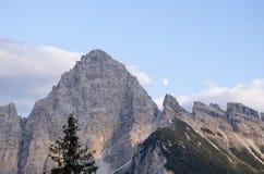 Góra dolomity Włochy Fotografia Royalty Free