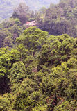 Góra domu krajobraz Zdjęcia Stock